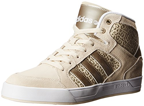save off 05182 342ef ... reduced adidas neo womens bbadidas performance raleigh mid w basketball  fashion sneaker bone cyber gold f06