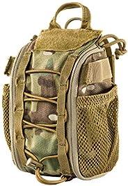 OneTigris Cordura Nylon Multicam Trauma Pouch First Aid Medical Bag (Multicam)