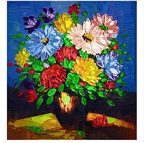 CZYYOU DIY Digital Malen Nach Zahlen Floral Floral Floral Farbeing Wandkunst Bild Geschenk 40x50cm-Ohne Rahmen B07PH1QZ4T | Adoptieren  b5eb44