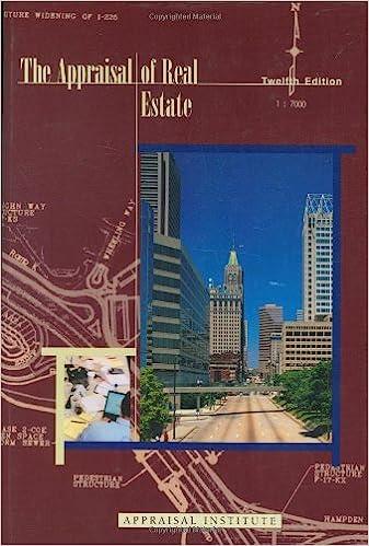 Real Estate Appraisal Book