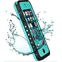iPhone 5C Case,Mangix New Waterproof Shockproof Dirtproof Snowproof Protection Case Cover Only for Apple iPhone 5C (Aqua)