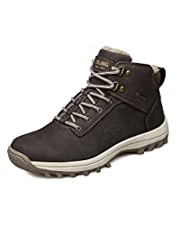 EZUOGO Men's Snow Boots Outdoor Waterproof Sneaker Winter Warm Shoes