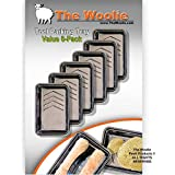 """11"""" x 7"""" x 2"""" - Small Plastic Paint Tray VALUE 6-Pack - """"Paint Tool Parking Trays"""" by The Woolie"""