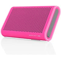 Braven 405 Wireless Portable Bluetooth Speaker [Waterproof][Outdoor][Rugged][24 Hour Playtime][2100 mAh] - Raspberry