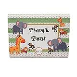 Adorox Baby Jungle Zoo Animals THANK YOU Cards Baby Shower Birthday Party Safari Theme Boys Girls (24)
