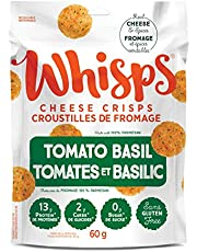 Whisps WHISPS Tom.Basil Cheese Crisps, Tomato Basil, 60 Gram