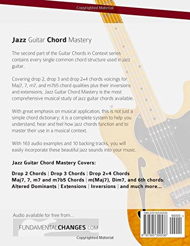 Jazz Guitar Chord Mastery: Volume 2 Guitar Chords in Context ...