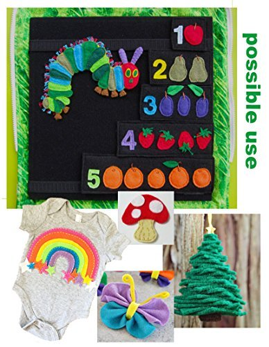 hip girl boutique 12 inch x 9 acrylic felt sheet, free tutorial instructions