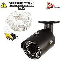 Q-See 4MP HD Bullet Camera: 2688x1520, 3.6mm Lens, 36 IR LEDs, IR up to 100ft, AGC, IP66 - QTH8071B