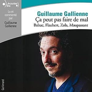 Balzac, Flaubert, Zola, Maupassant lus et commentés par Guillaume Gallienne (Ça peut pas faire de mal 3) | Livre audio
