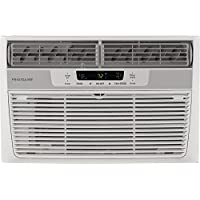 Frigidaire FFRA0622S1 6,000 BTU Mini Compact Air Conditioner with 147 CFM, 3 Fan Speeds, Effortless Temperature Control, 24-Hour Timer, in White