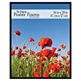 MCS 65534 Original Poster Frame with Strong Pressboard Backing Back, 16 by 20-Inch