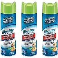 Woolite Heavy Traffic Carpet Foam + Protection Cleaner, 22 fl oz (Pack of 3)