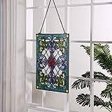 Bieye W10028 Victorian Tiffany Style Stained Glass