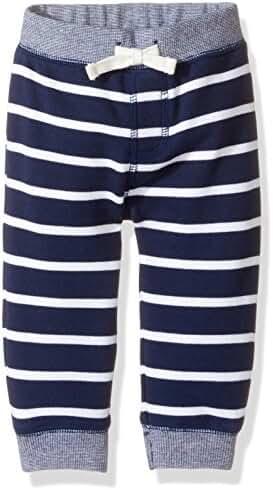 Gymboree Baby Toddler Boys' Striped Navy Knit Pant