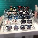 MineSign Sunglasses Organizer Clear Eyeglasses