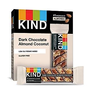 KIND Bar, Dark Chocolate Almond & Coconut, 1.4 Ounce, 60 Count