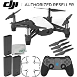 Ryze Tello Quadcopter Drone with HD camera and VR - powered by DJI technology and Intel Processor with GameSir T1d Bluetooth Gaming Controller Ultimate Bundle