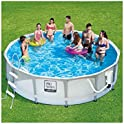 "Summer Waves Elite 14' x 42"" Frame Above Ground Swimming Pool"