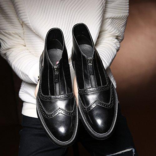 Männer - mode, freizeit - und und und chelsea - stiefel des kreativen chelsea Stiefel,schwarz,42 594907