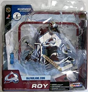 McFarlane Toys NHL Sports Picks Series 6 Action Figure Patrick Roy (Colorado Avalanche) White Jersey