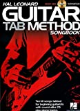 Hal Leonard Guitar Tab Method Songbook 1 Book/CD