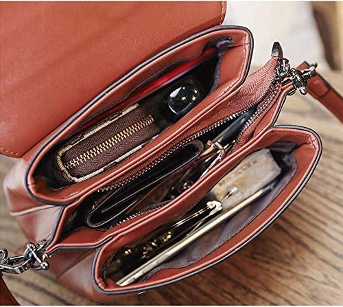 Tamaño 5cm La De Moda color 22x17x11 Bolsos Messenger Willsego Bag zEq0Zfx