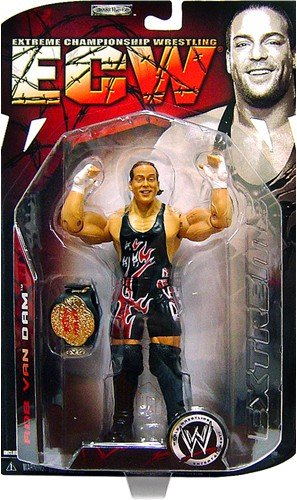 Amazoncom Rob Van Dam Rvd Wwe Wrestling Ecw Series 1 Figure By
