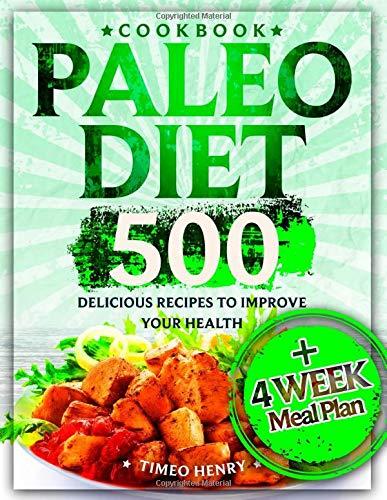 Paleo Diet Cookbook Delicious Recipes product image