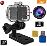Best Action Camera For Bicycle Motorcycles - FabQuaity Waterproof Mini Camera SQ12 HD + 16GB Review