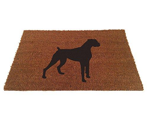 Boxer Door Mat - Boxer Silhouette Doormat (18