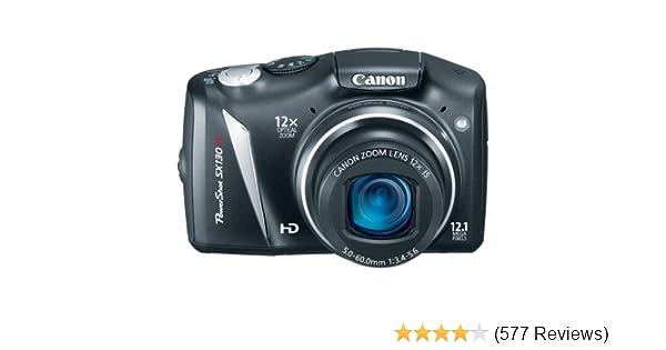 amazon com canon powershot sx130is 12 1 mp digital camera with 12x rh amazon com Canon PowerShot SX130 Canon PowerShot Sx170is Manual