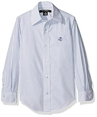 Brooks brothers boys 39 non iron club stripe for Brooks brothers non iron shirt review