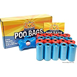 NEW Poo Bags | 480 Poop Bags for Poop and Pet Dog Waste | Bag Holder