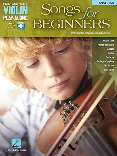 Download Songs for Beginners: Violin Play-Along Volume 50 pdf epub