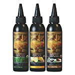 Castillo de Pinar 3-Pack Bundle - Thyme Balsamic Reduced Vinegar (150ml), Lemon Reduced Vinegar (150ml) and Coconut… 3 3-Pack Bundle - Thyme Balsamic Reduced Vinegar, Lemon Reduced Vinegar and Coconut & Coriander Spicy Peri-Peri USES - Syrupy, sweet-tart reduction has a myriad of uses! Drizzle the balsamic reduction on just about anything, like simple salads (like this tomato, basil, and cheese appetizer, as pictured), or use as a dip for antipasto skewers. QUALITY - Made with the finest Organic/ Non-GMO ingredients.