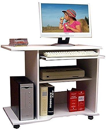 vcm 580109 scrivania per computer officano, scrivania per pc con ... - Scrivania Con Computer
