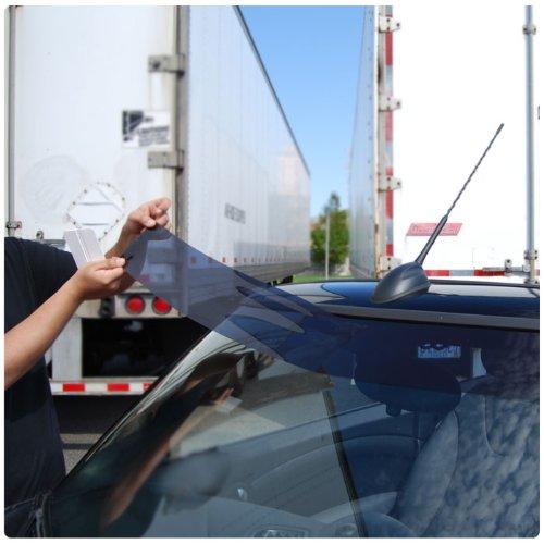 Static Cling Windshield Window Tint Sun Visor Strip Kit Mitsubishi  Outlander RVR 2011 2012 - 5% All Windows  Amazon.ca  Automotive e136b6efe25