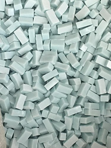 - Smalti loose tile - 1/4 lb bag - Baby Blue - Hakatai Glass Tile