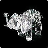 Feng Shui Elephant Crystal Figurine with Gift Box, Figurine 21582