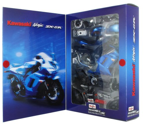 Tobar 1:12 Scale Kawasaki Ninja Zx-6R Vehicle (Best Electric Motorcycle Uk)