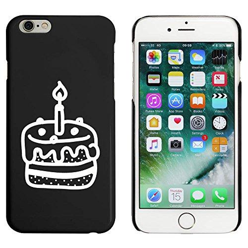 Schwarz 'Geburtstagskuchen' Hülle für iPhone 6 u. 6s (MC00087928)