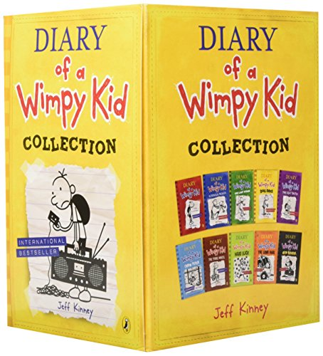 Diary of a Wimpy Kid Collection (Set of 10) by Puffin (Image #1)
