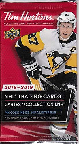2018 2019 Tim Hortons Hockey 3 Card Pack Trading Cards Amazon Canada