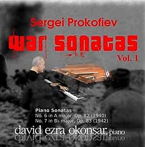Sergei Prokofiev War Sonatas & N.9 VOL.1 Piano Sonatas 6 and 7