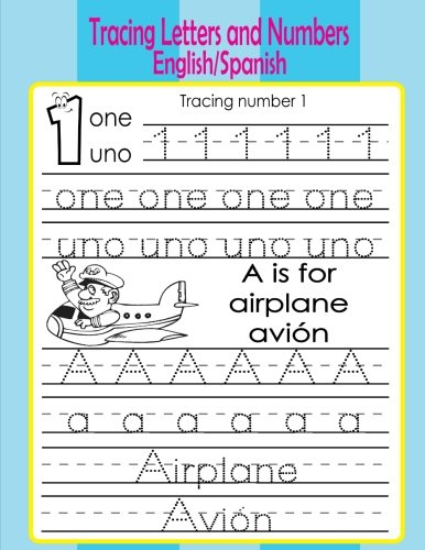 Tracing Letters and Numbers (English/Spanish)