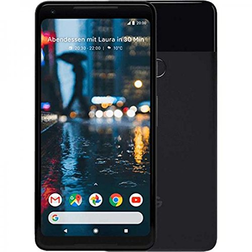 Google Pixel 2 XL 15.2 cm (6') 4 GB 64 GB Tarjeta SIM Sencilla 4G Negro 3520 mAh - Smartphone (15.2 cm (6'), 4 GB, 64 GB,...