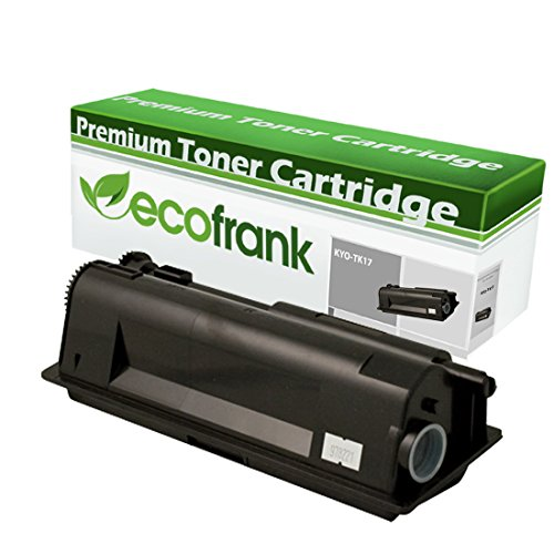 (EcoFrank Compatible Toner Cartridge Replacement for Kyocera TK17 370PT5KM TK18 370QB0KM (Black, 1-Pack))