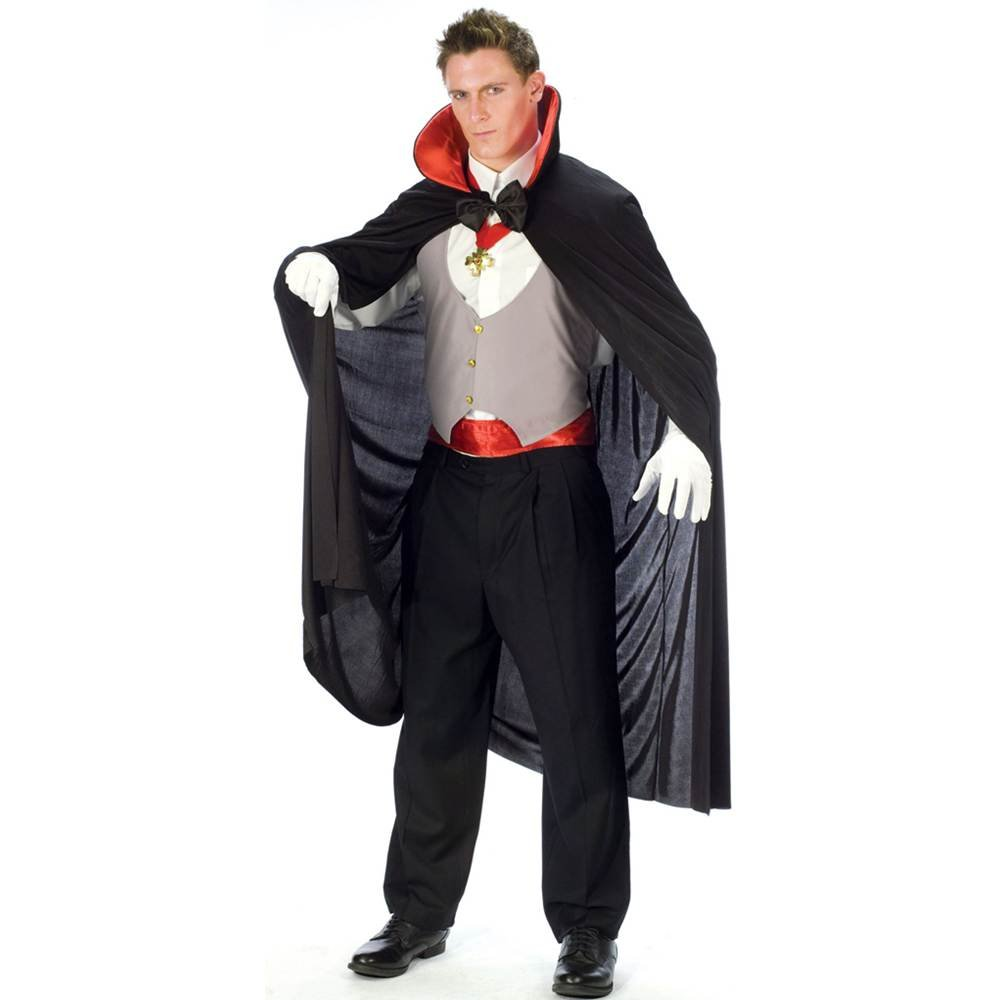 Amazon.com Fun World Complete V&ire Black/White/Red One Size Costume Clothing  sc 1 st  Amazon.com & Amazon.com: Fun World Complete Vampire Black/White/Red One Size ...