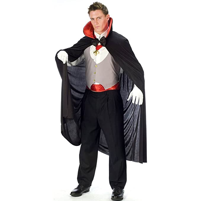 Fun World Complete V&ire Black/White/Red One Size Costume  sc 1 st  Amazon.com & Amazon.com: Fun World Complete Vampire Black/White/Red One Size ...